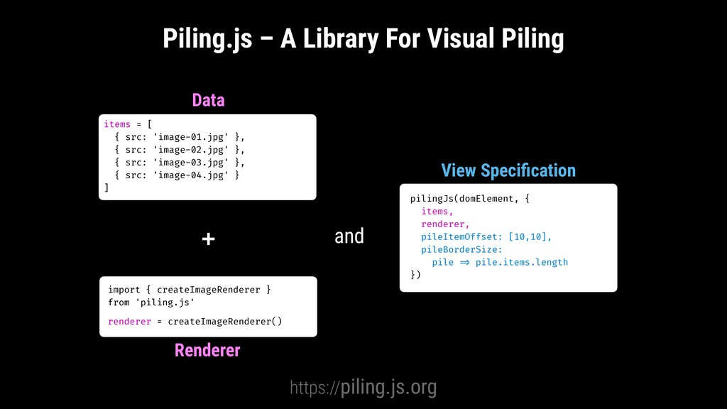 + Piling.js – A Library For Visual Piling https...