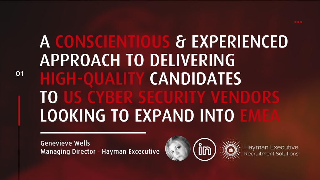 A CONSCIENTIOUS & EXPERIENCED APPROACH TO DELIV...