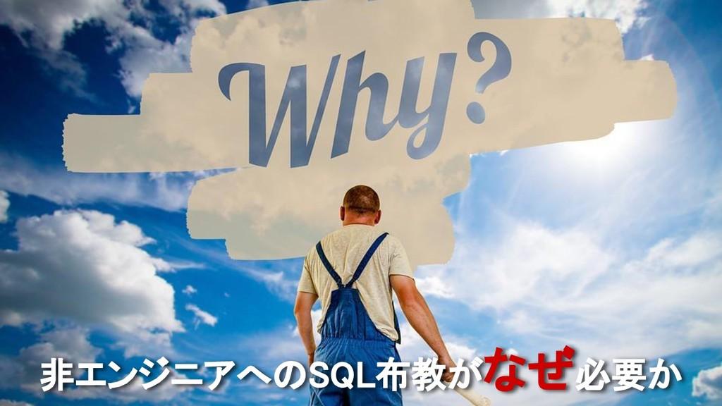 非エンジニアへのSQL布教がなぜ必要か