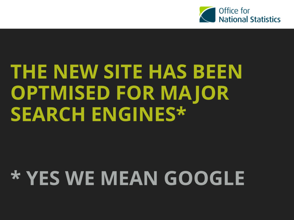 THE NEW SITE HAS BEEN OPTMISED FOR MAJOR SEARCH...