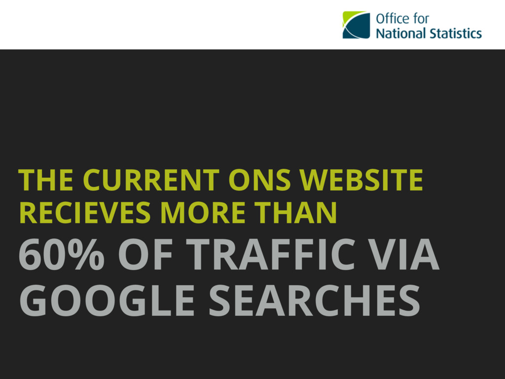 THE CURRENT ONS WEBSITE RECIEVES MORE THAN  60...
