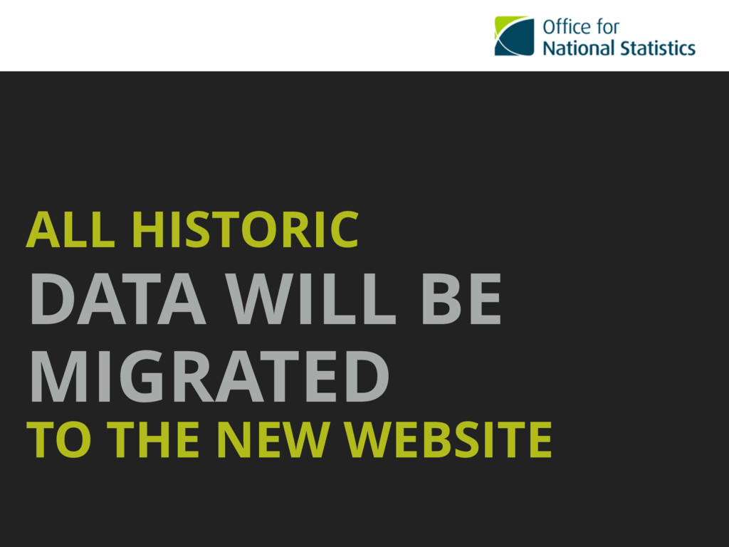 ALL HISTORIC  DATA WILL BE MIGRATED  TO THE N...