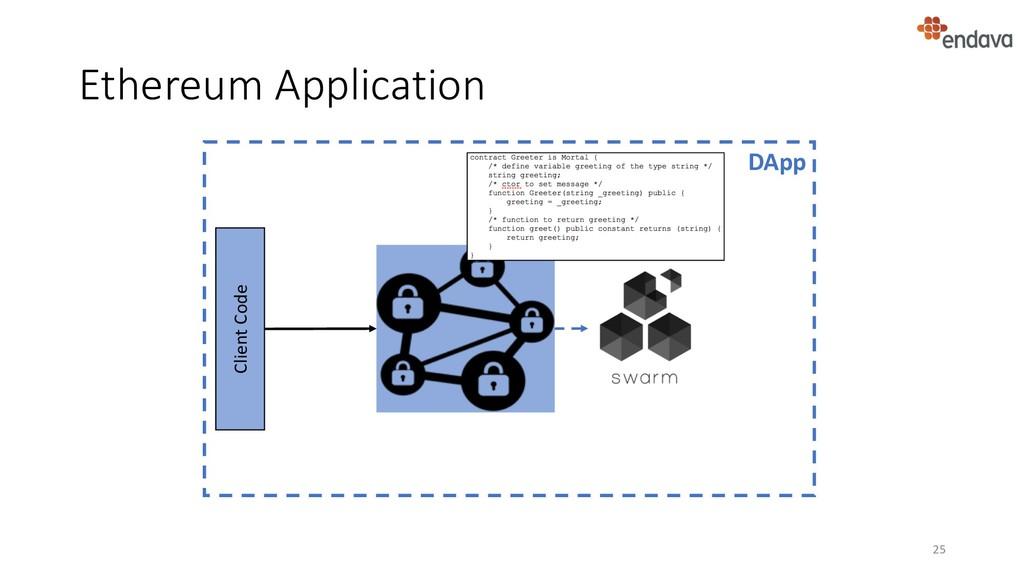 Ethereum Application 25 DApp Client Code