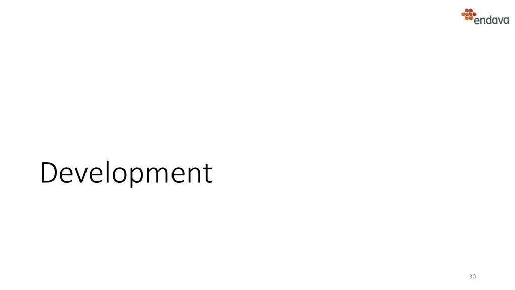 Development 30