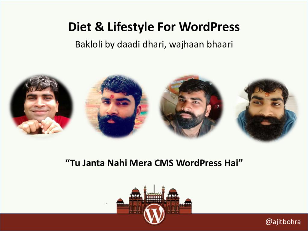Diet & Lifestyle For WordPress Bakloli by daadi...