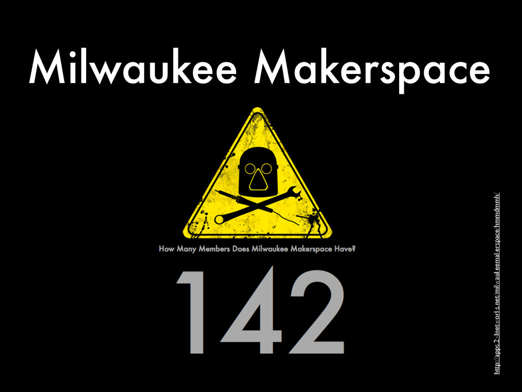 Milwaukee Makerspace http://apps.2xlnetworks.ne...