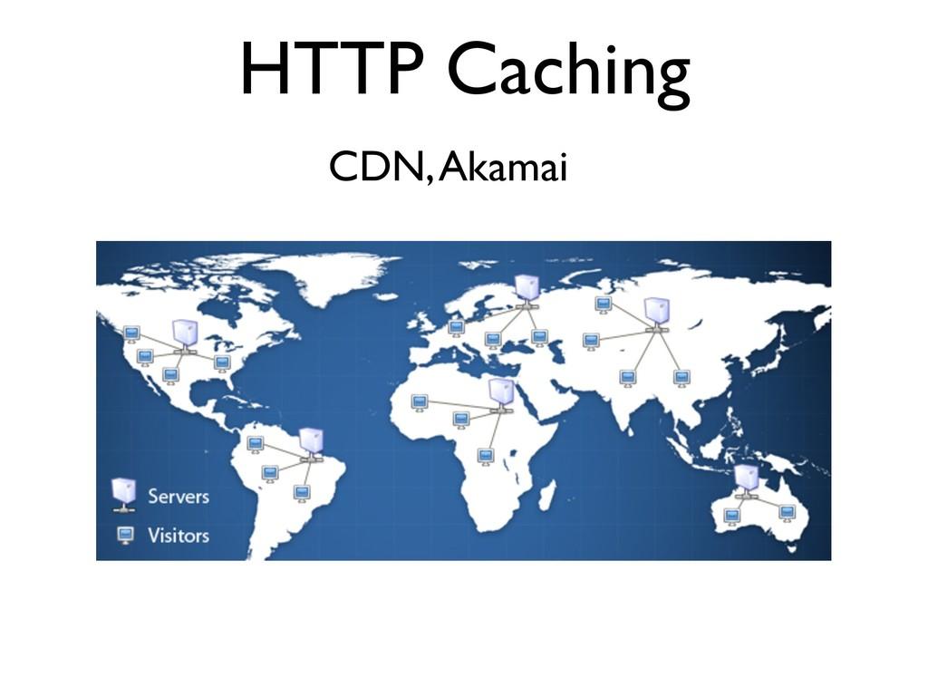 HTTP Caching CDN, Akamai