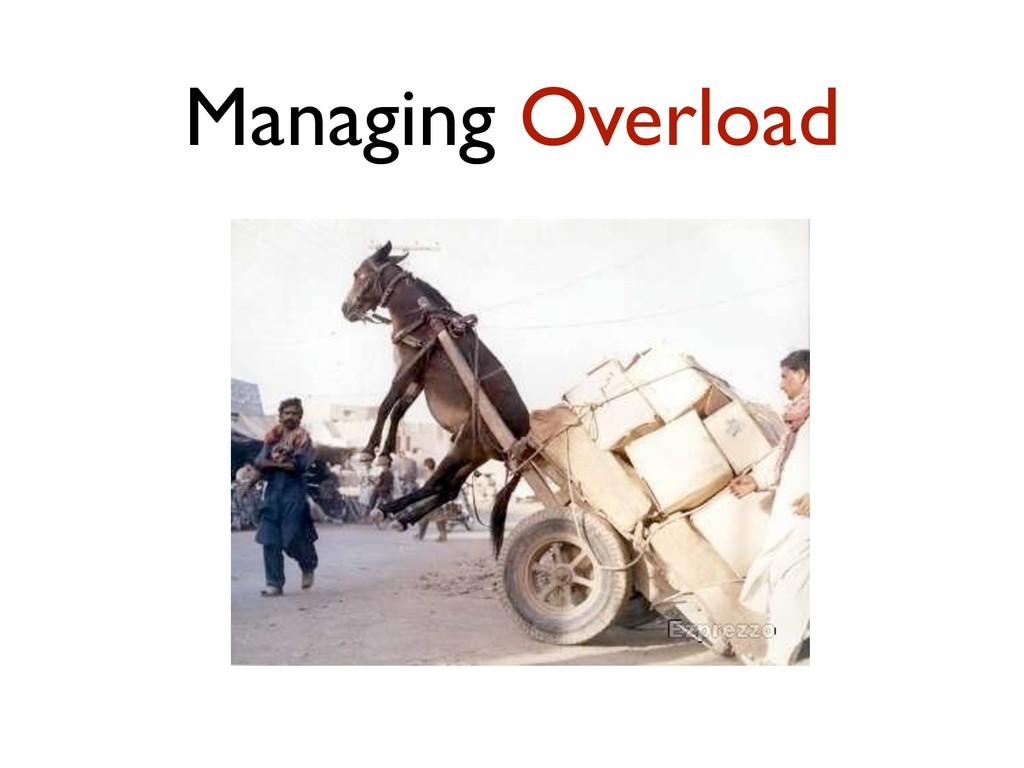 Managing Overload