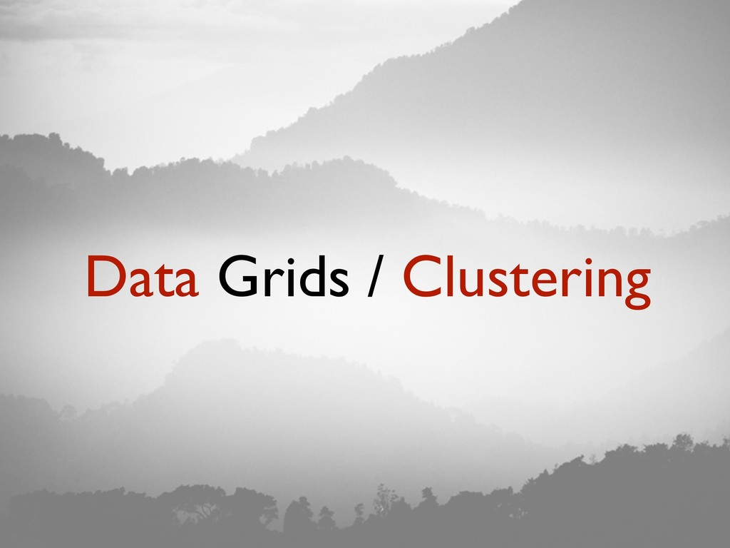Data Grids / Clustering