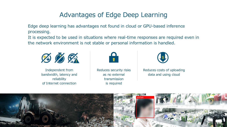 Advantages of Edge Deep Learning Edge deep lear...