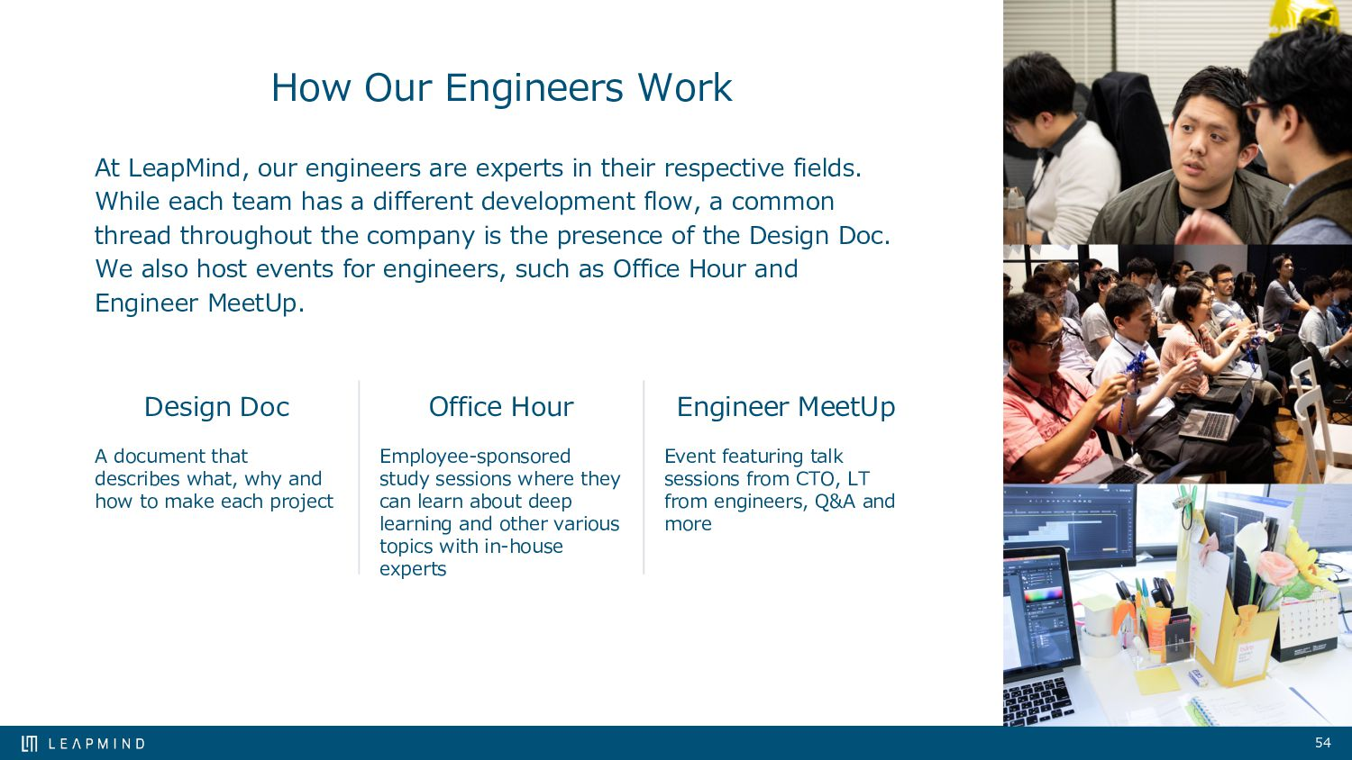 54 How Our Engineers Work At LeapMind, our engi...