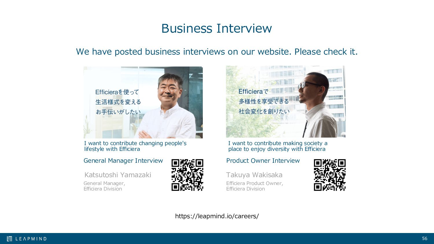 56 Business Interview We have posted business i...