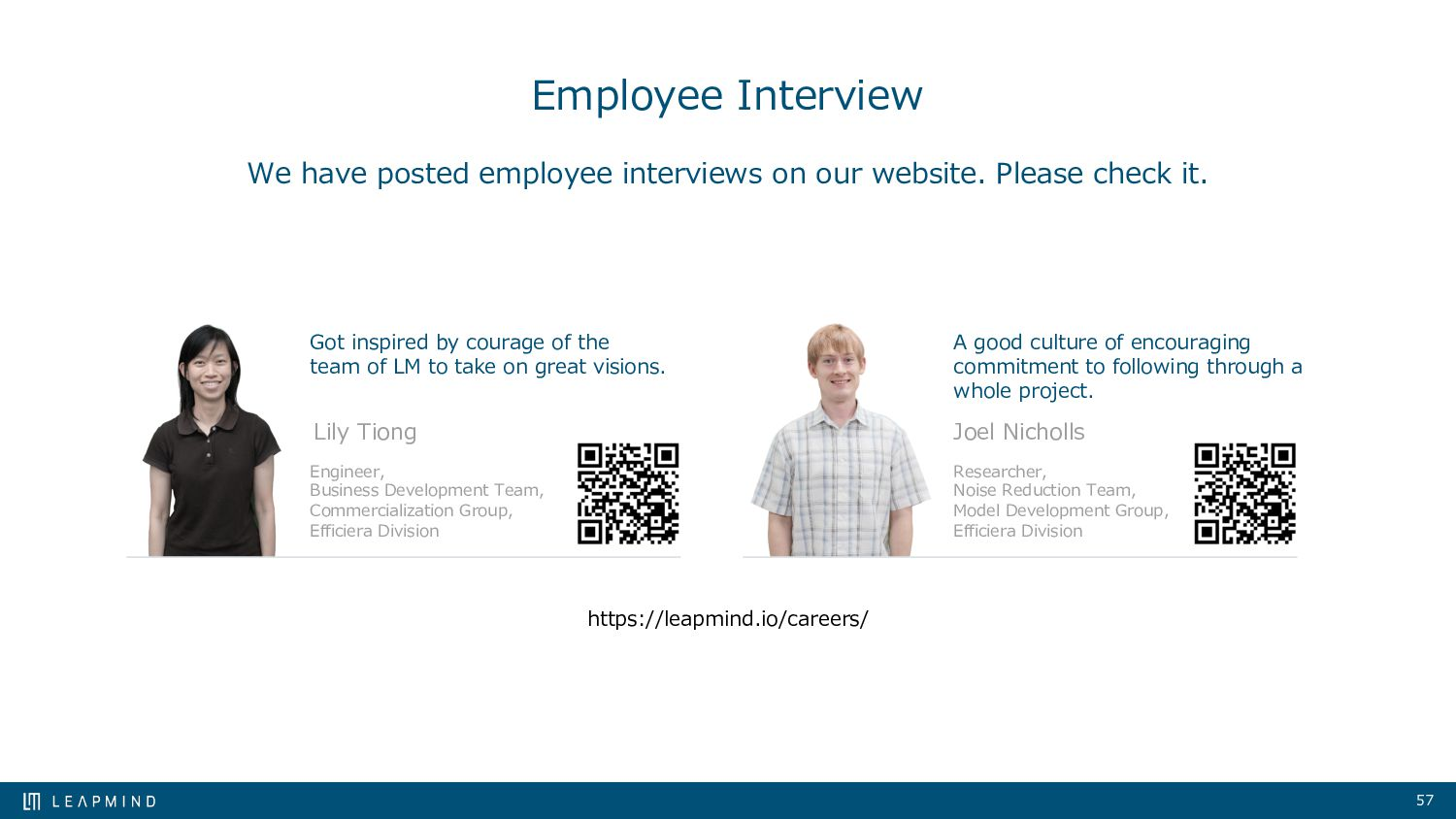 57 Employee Interview We have posted employee i...
