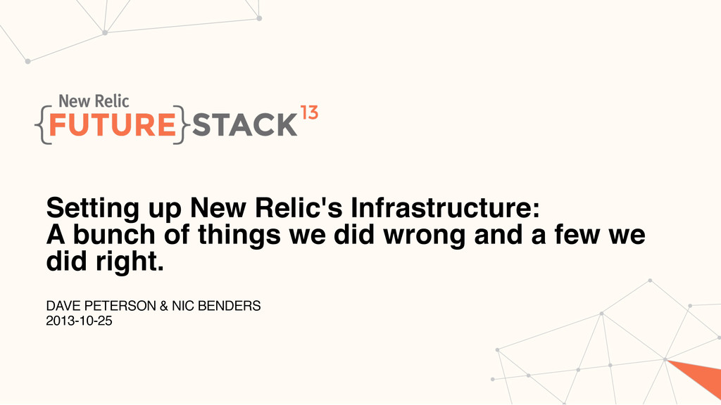 Setting up New Relic's Infrastructure: A bunch ...