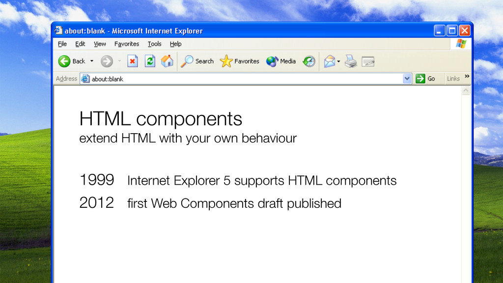 HTML components