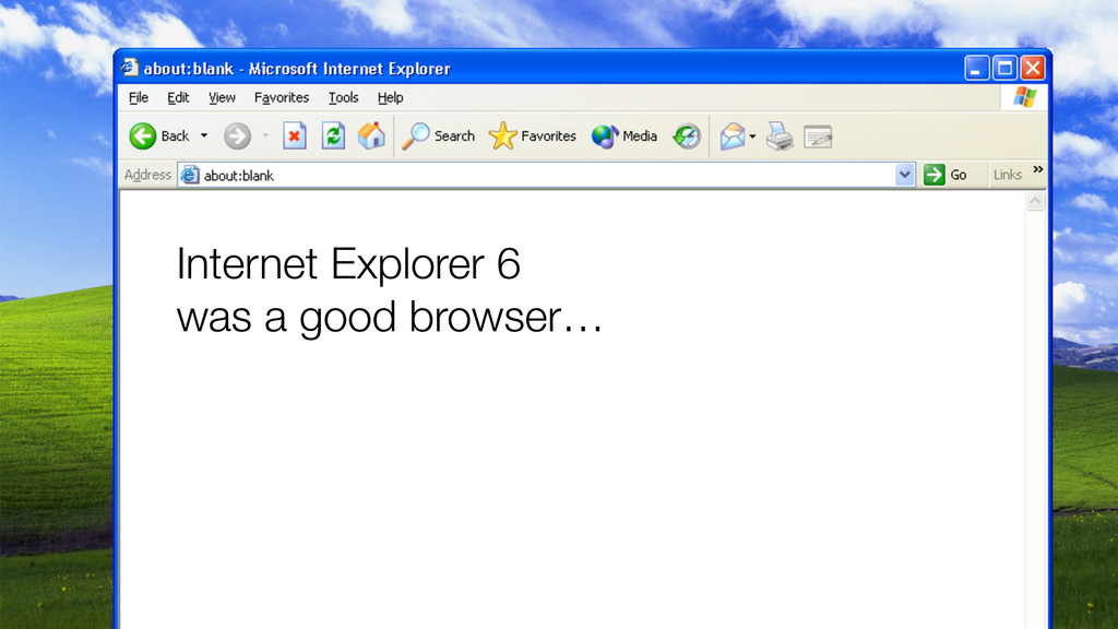 Internet Explorer 6