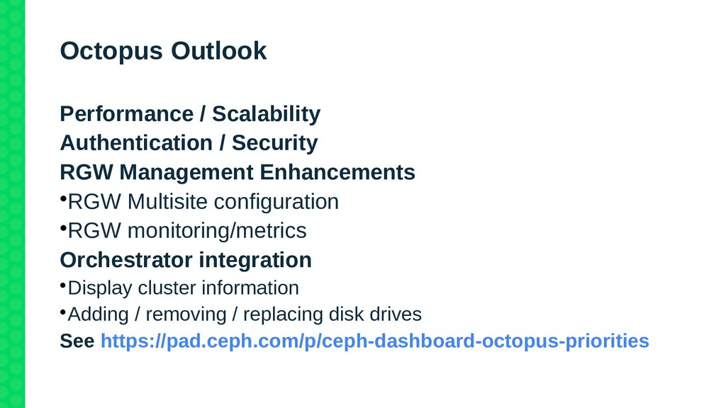 Octopus Outlook Performance / Scalability Authe...