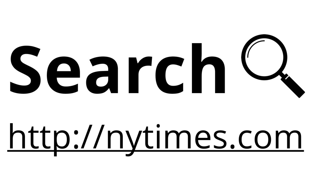 Search http://nytimes.com