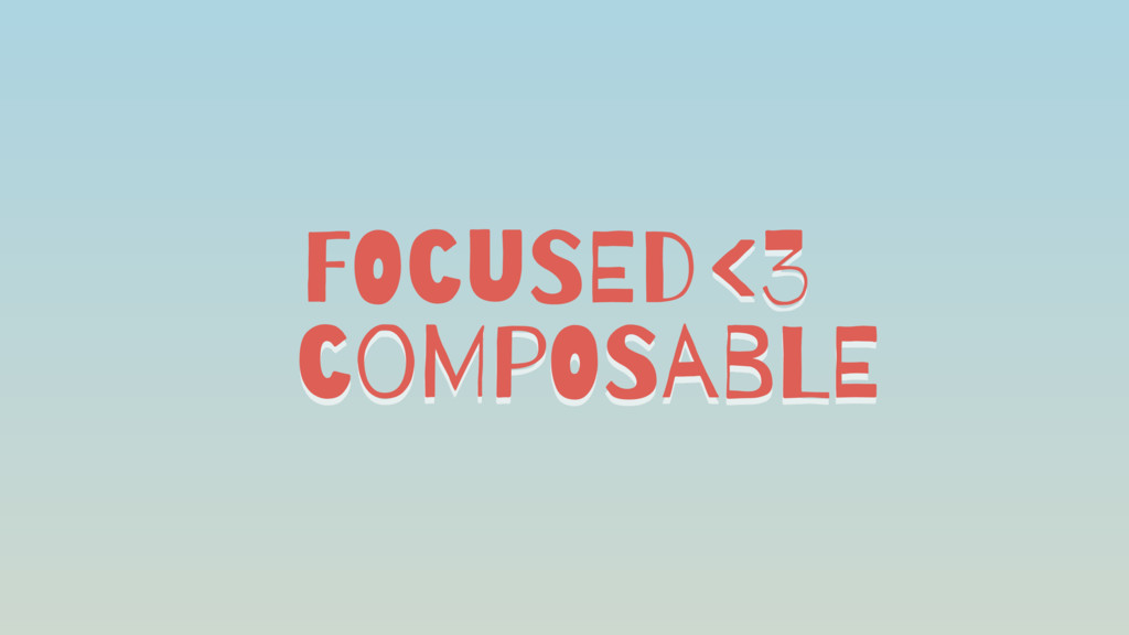 FOcuSEd coMpOSabLE <3
