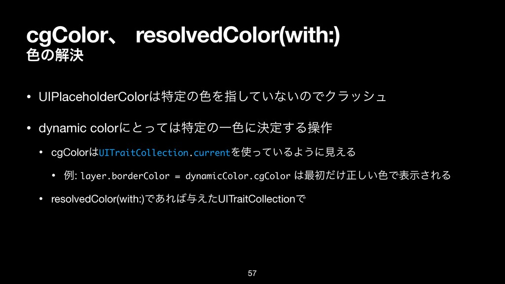 cgColorɺ resolvedColor(with:) ৭ͷղܾ • UIPlacehol...