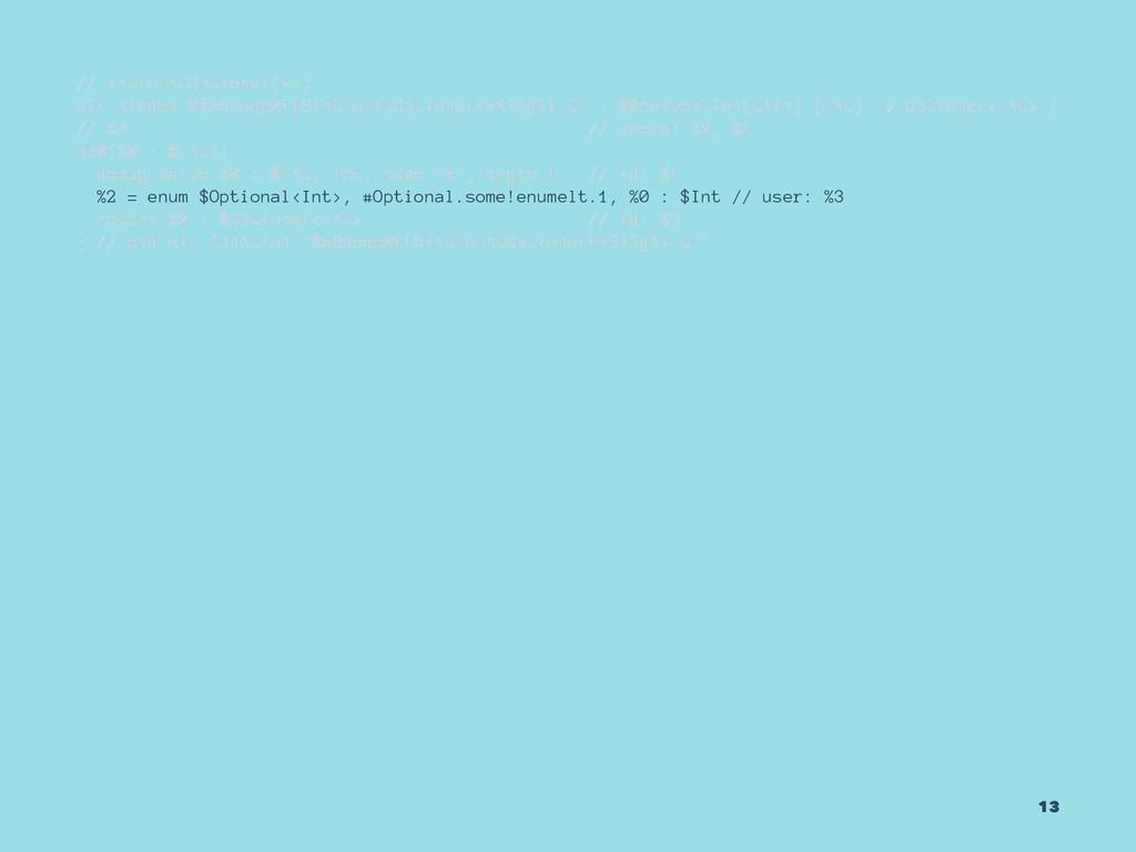 // intToIntOptional(x:) sil hidden @$s6code0116...