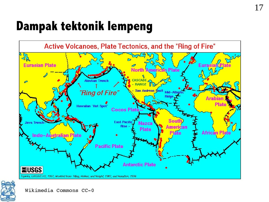 Dampak tektonik lempeng 17 Wikimedia Commons CC...