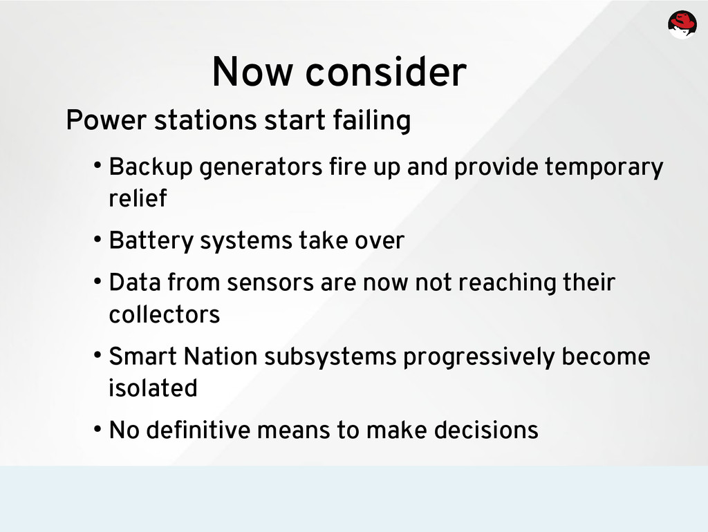 Now consider Power stations start failing ● Bac...