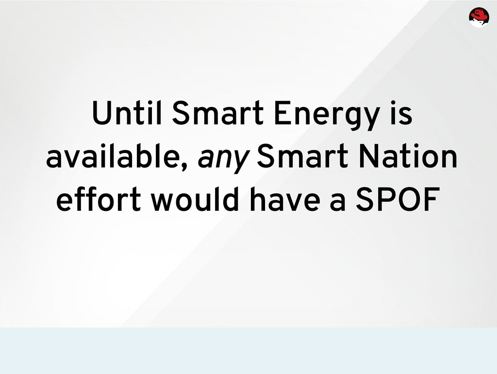 Until Smart Energy is available, any Smart Nati...