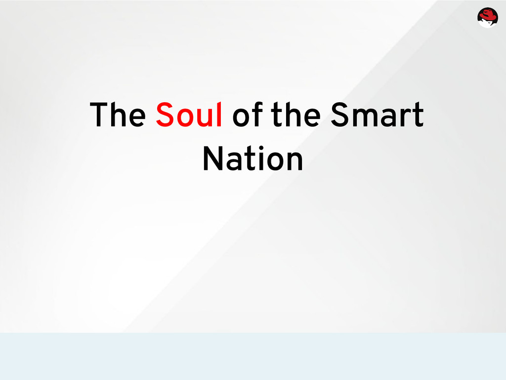 The Soul of the Smart Nation