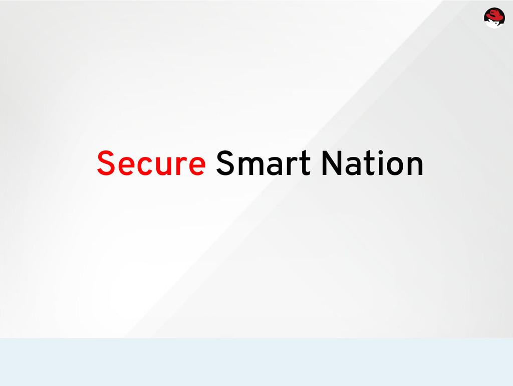 Secure Smart Nation