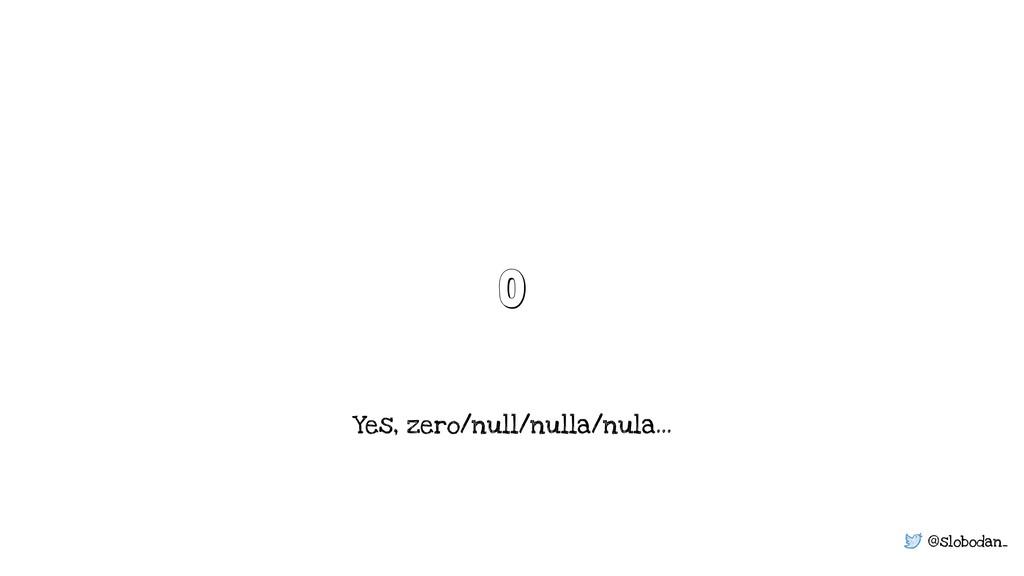 @slobodan_ 0 Yes, zero/null/nulla/nula…