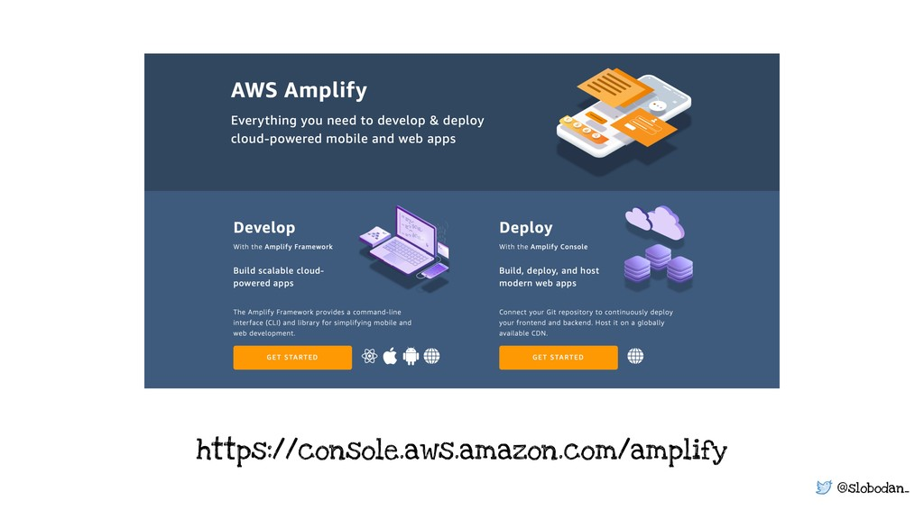 @slobodan_ https://console.aws.amazon.com/ampli...