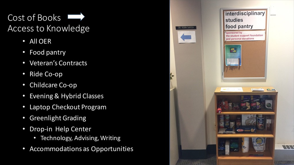 Cost of Books Access to Knowledge • All OER • F...