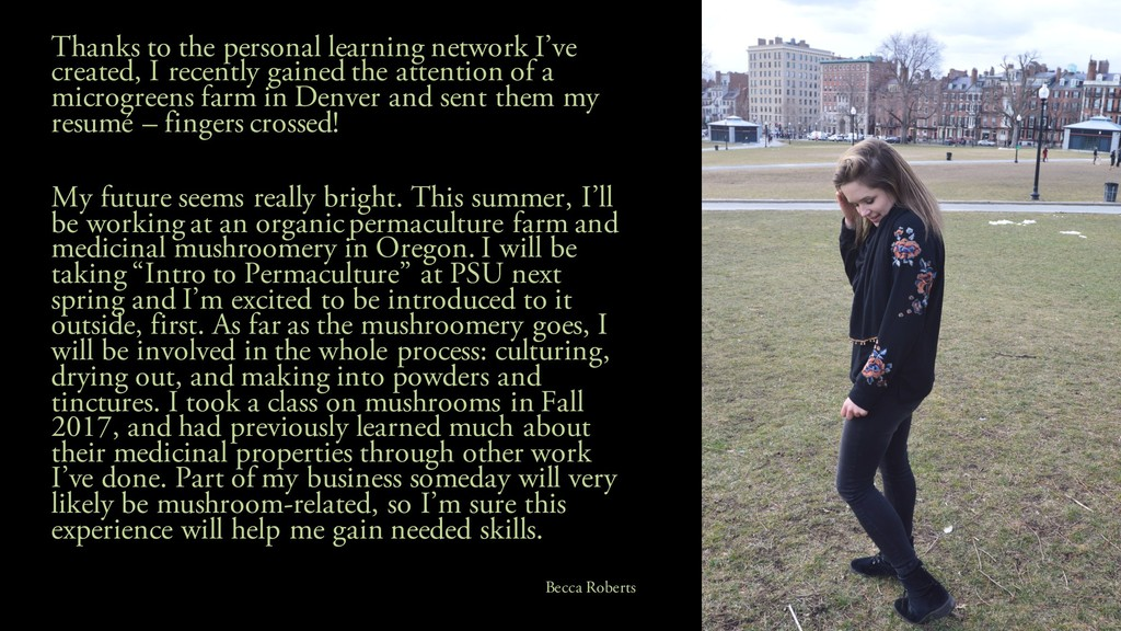 Thanks to the personal learning network I've cr...
