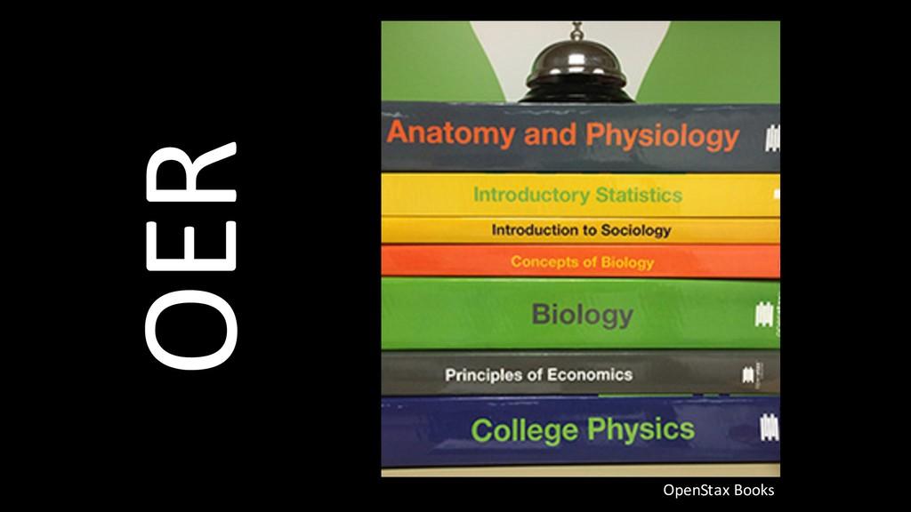 OER OpenStax Books