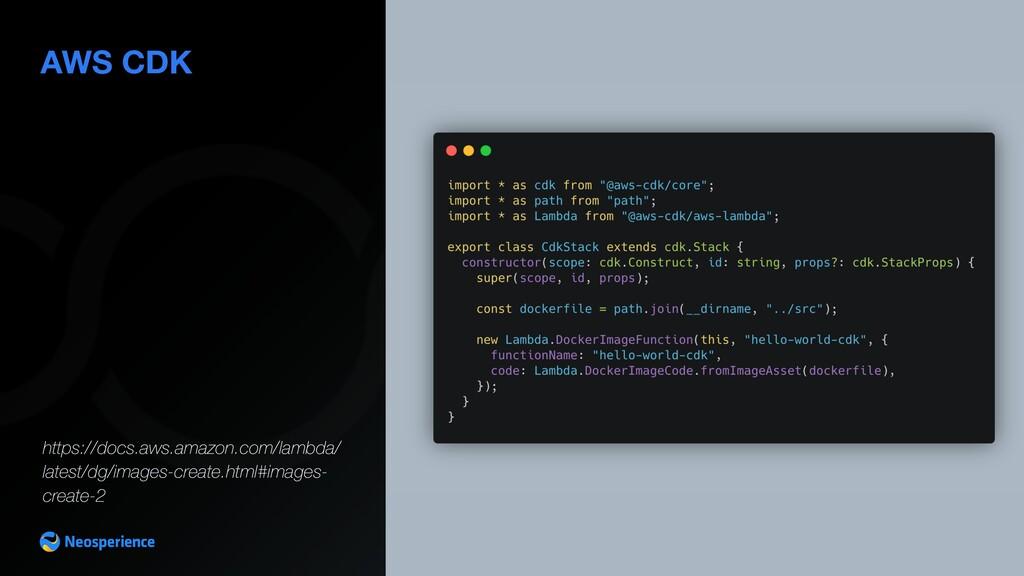AWS CDK https://docs.aws.amazon.com/lambda/ lat...
