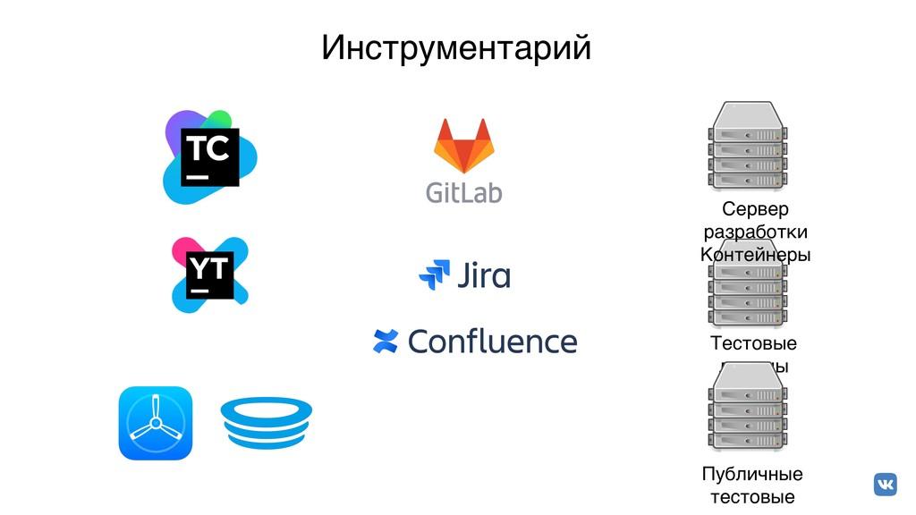 Инcтрументарий Сервер разработки Контейнеры Те...