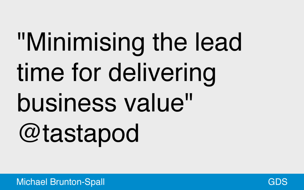 """Minimising the lead time for delivering busine..."