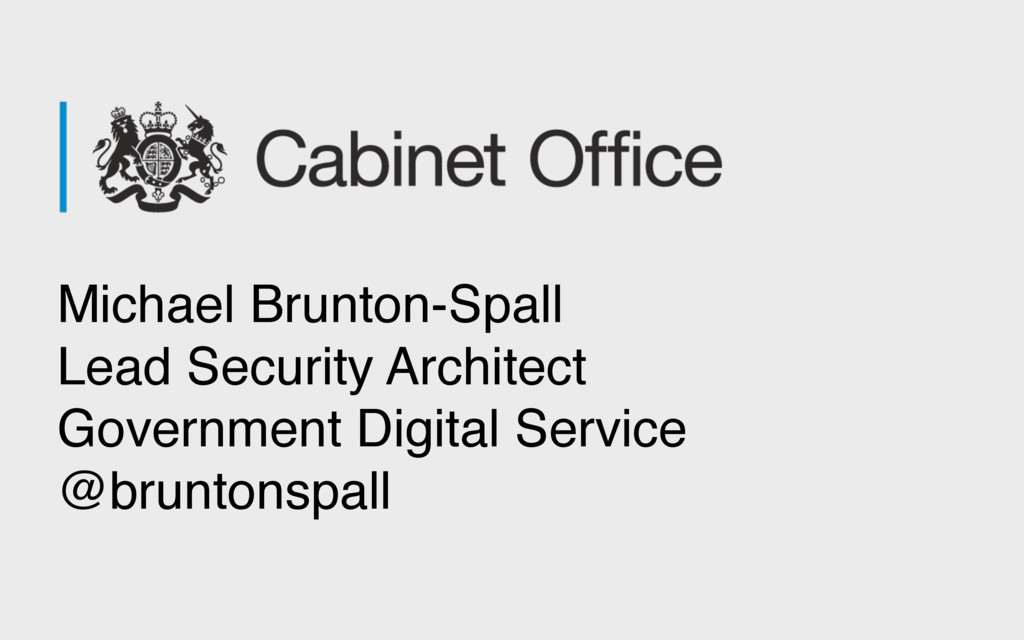 Michael Brunton-Spall