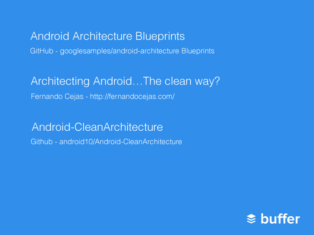 Android Architecture Blueprints GitHub - google...