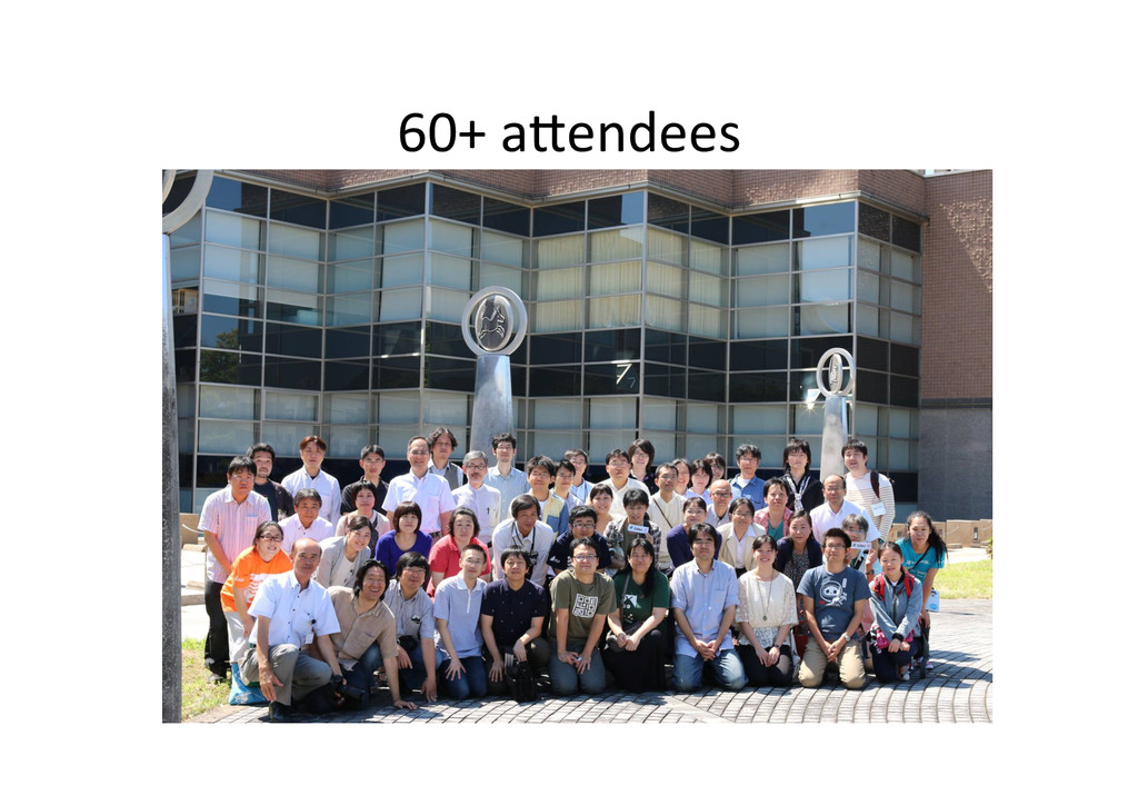 60+ aPendees