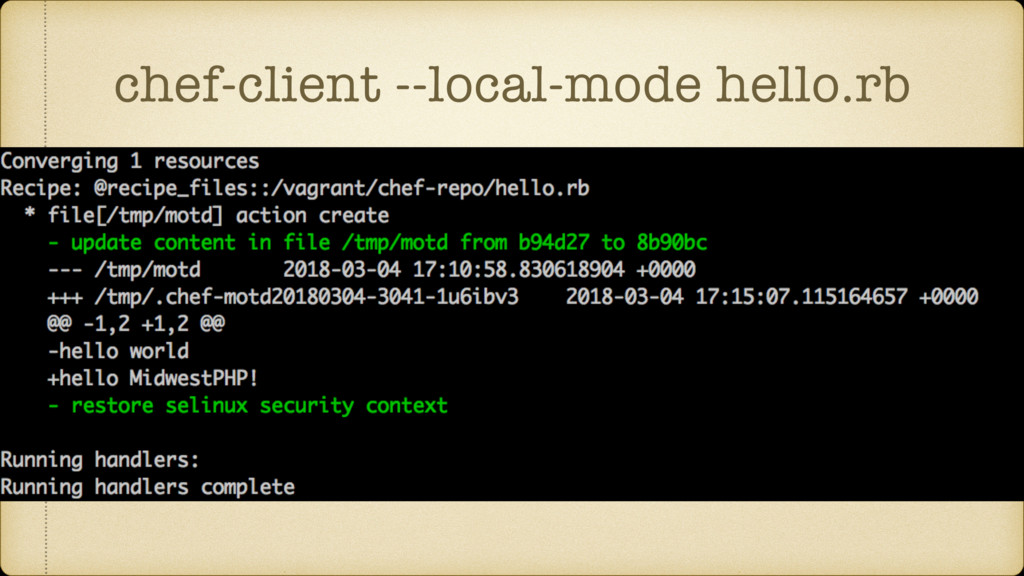 chef-client --local-mode hello.rb