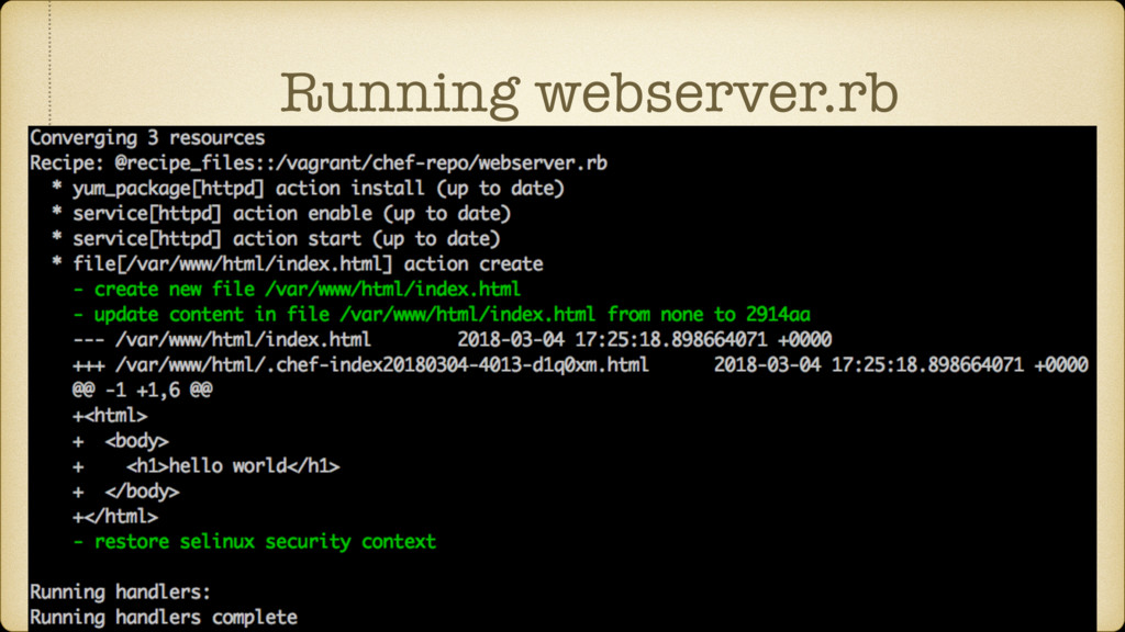 Running webserver.rb