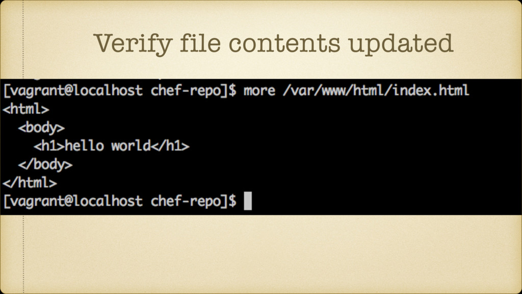 Verify file contents updated