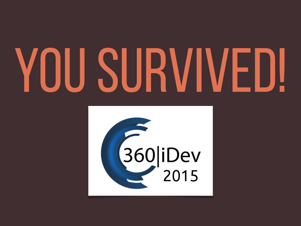 You Survived! 2015