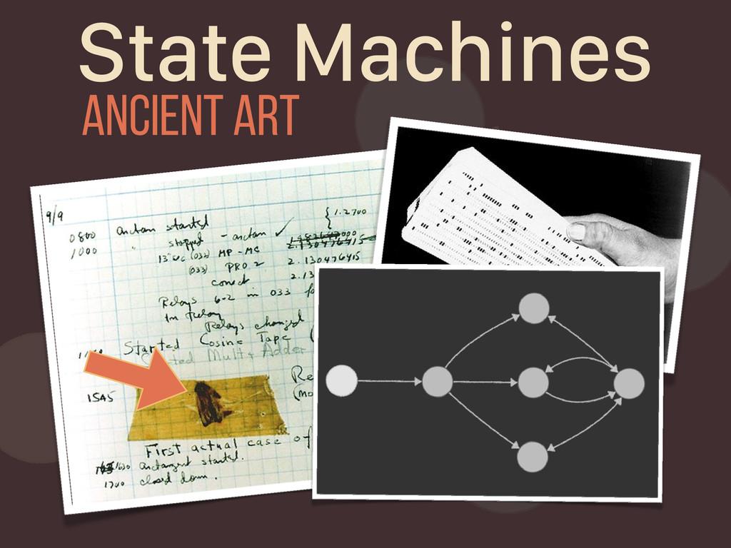 State Machines ancient art