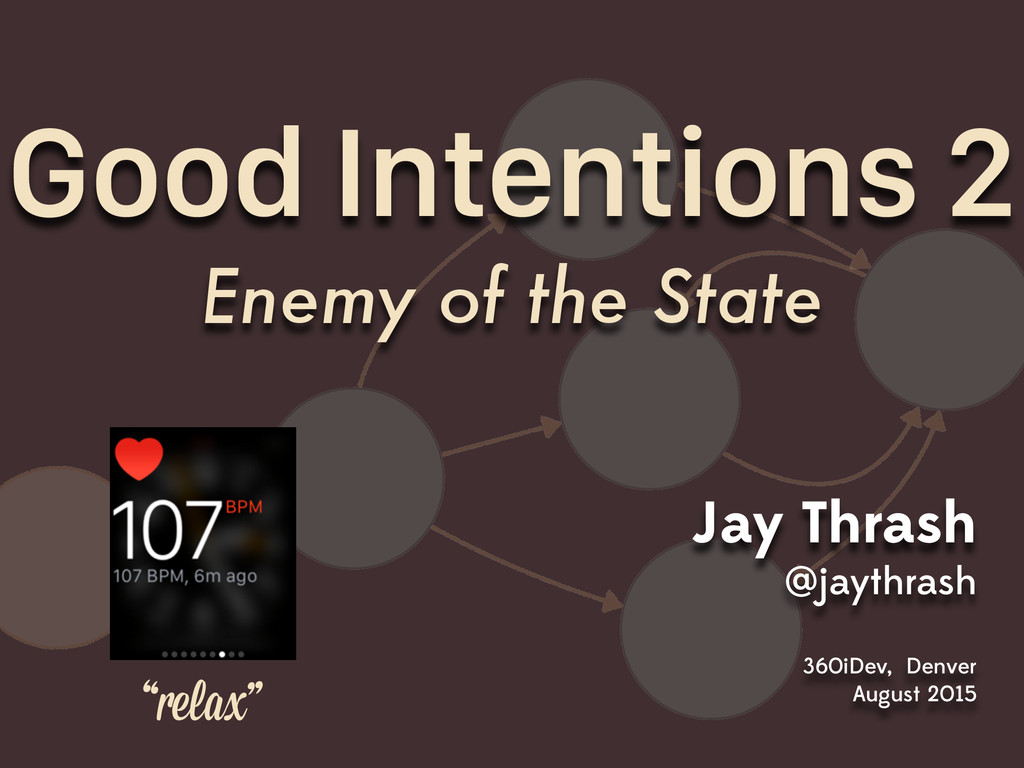 Good Intentions 2 Enemy of the State Jay Thrash...