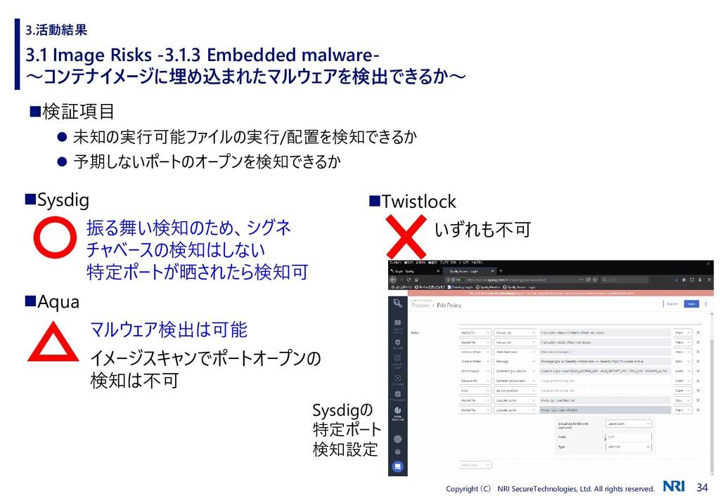 34 Copyright (C) NRI SecureTechnologies, Ltd. A...