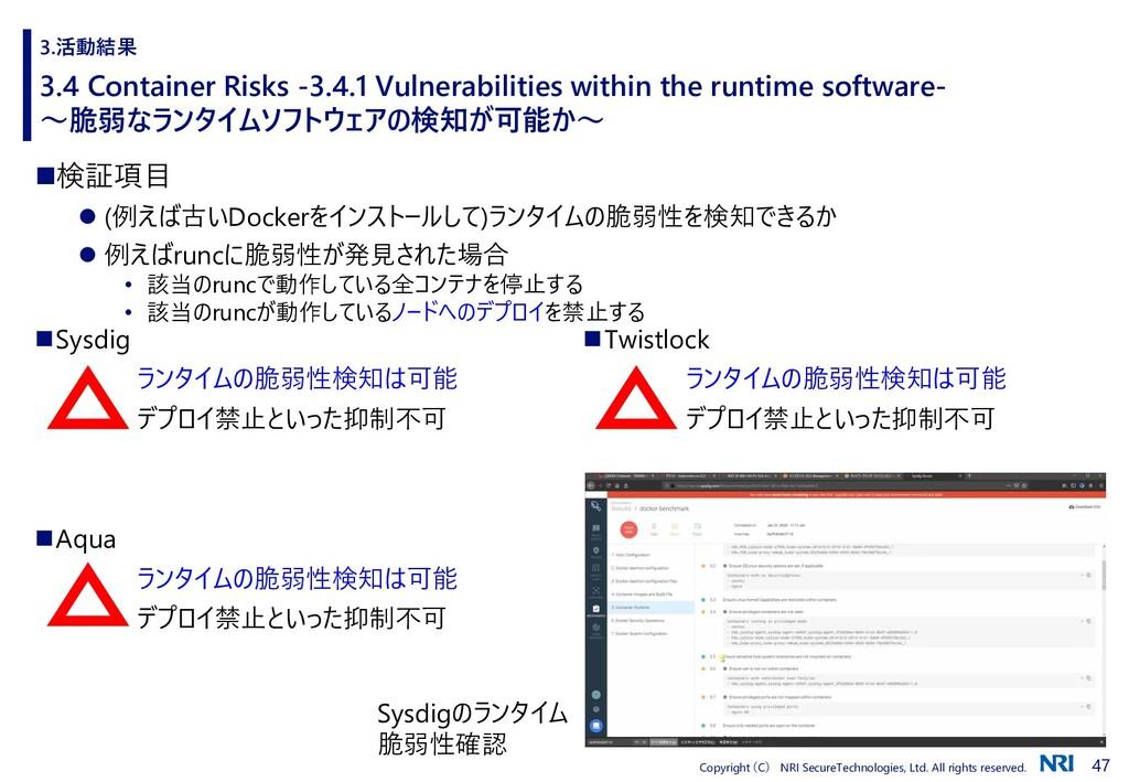 47 Copyright (C) NRI SecureTechnologies, Ltd. A...