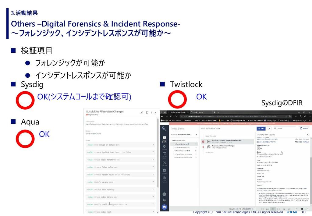 61 Copyright (C) NRI SecureTechnologies, Ltd. A...